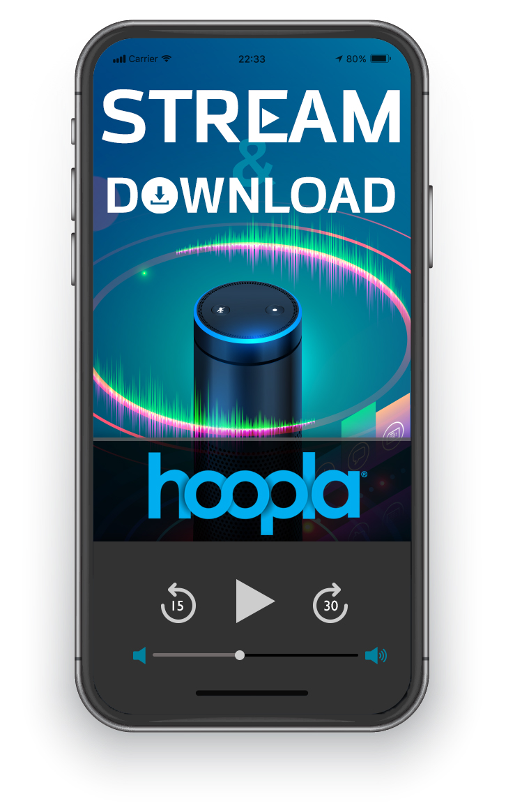 Download and stream music on hoopla