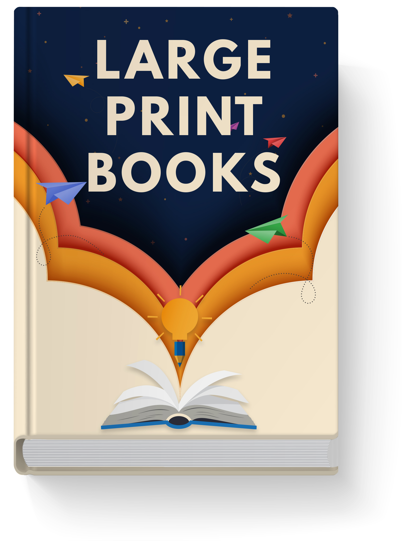 Visit our web catalog about Large Print Books.